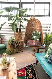 sunny green corner in the studio patina boho gypsy hippie