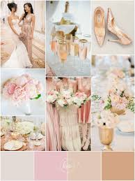 pink white gold wedding blush pink and gold wedding