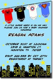 marvel baby shower baby shower invitations uprintinvitations artfire shop