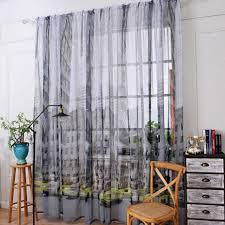 colors 1pcs cm window font curtains sheer rod pocket top popular