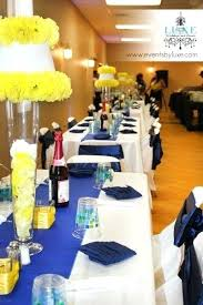Yellow And Blue Decor Royal Blue And Yellow Wedding Decorations U2013 Thejeanhanger Co