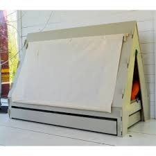 tent cabin teepee bed