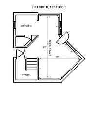 hillside floor plans hillside department of residence