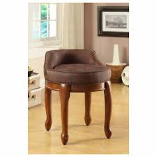 furniture awesome vanity chair with back designs custom decor