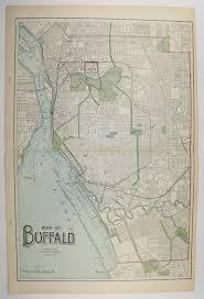 home decor buffalo ny original vintage map of buffalo ny toledo map cleveland oh 1902