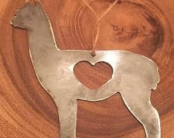 alpaca ornament etsy