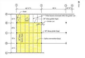 Floor Framing Plan Construction Incidents Investigation Engineering Reports