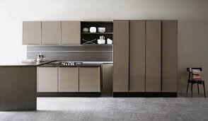 lacquered glass kitchen cabinets kitchen kitchen set with doors in lacquered glass volare aran cucine