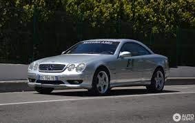 limited edition mercedes mercedes cl 55 amg f1 limited edition 3 august 2017