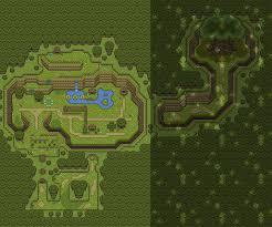 The Legend Of Zelda A Link Between Worlds Map by Lttp Alttp Neogaf