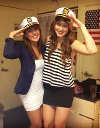 delta gamma sailors and their captain when in need of a costume