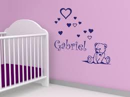 stickers nounours pour chambre bébé les 9 meilleures images du tableau stickers chambre bébé sur
