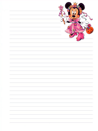 printable animal lined paper minnie mouse is a funny animal cartoon character created by ub