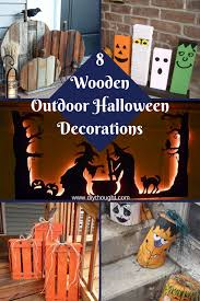 8 diy wooden halloween decorations diy thought