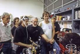 Schools For Special Effects Makeup Stan Winston And Crew Demonstrate The