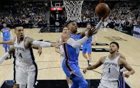 Oklahoma travel guard images Spurs overcome 23 point deficit to beat thunder 104 101 boston jpg