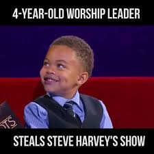 Caleb Meme - super cute alert 4 year old caleb serrano led steve harvey s