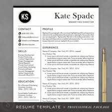 Teacher Resume Samples In Word Format by Professional Resume Template By Creativelab On Creativemarket