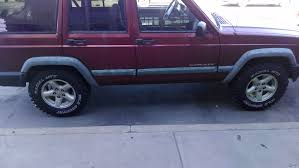 lifted jeep grand cherokee bigger tires with no lift has anyone had an experience