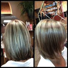 grey hair with highlights and low lights for older women blending in greys in brown hair yahoo search results hair time