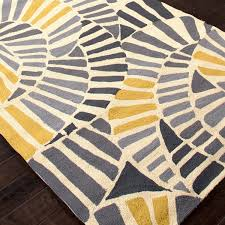 Yellow And Grey Outdoor Rug Rugs Curtains Charming Geometric Grey And Yellow Indoor Outdoor Rug