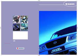 suzuki pdf grand vitara range free online doc