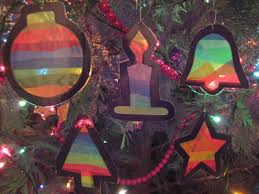 stained glass ornaments teachkidsart