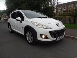 used peugeot finance used peugeot 207 sw estate 1 6 hdi fap outdoor 5dr in barnsley
