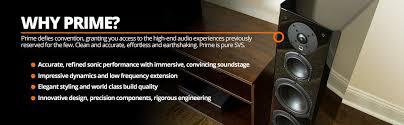 Svs Bookshelf Speakers Amazon Com Svs Prime Bookshelf Speakers Piano Gloss Pair