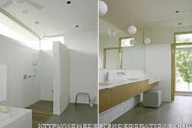Clearstory Windows Plans Decor Master Bathroom Possible High Bathroom Window Over Cabinets And