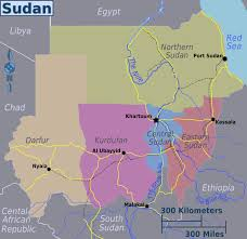 Sudan Africa Map by Maps Of Sudan Map Library Maps Of The World