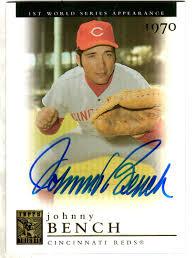 Johnny Bench Autograph Main Line Autographs