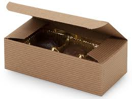 fudge boxes wholesale candy boxes 1 2 lb 100 recycled kraft