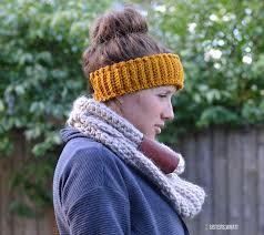 crocheted headbands fleece lined crocheted headband free crochet pattern what