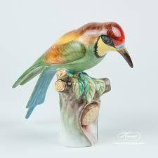 apiarist bird herend figurines herend porcelain animals