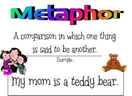 figurative language examples metaphor