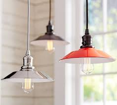 Barn Pendant Light Pb Classic Pendant Metal Flared Pottery Barn In Pottery Barn