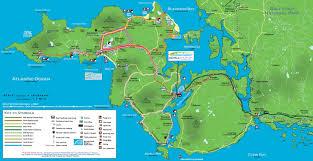 Map Of Dublin Ireland Achill Map Achill Island U0026 The Currane Peninsula Ireland
