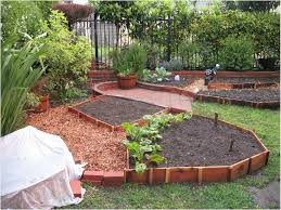 sloping backyards landscaping ideas for downward sloping backyard