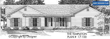templeton house plan house plans by garrell associates inc