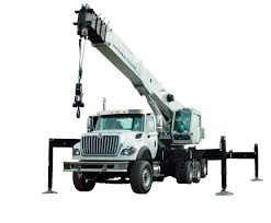 truck mounted crane telescopic boom lifting national crane