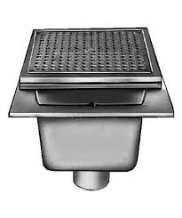 jr smith floor sink 3100 jay r smith 3110 sanitary floor sink with 12 square top 6 sump