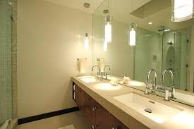 bathroom recessed lighting placement fixtures over mirror hunter
