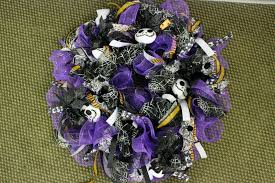 halloween wreath jack skellington youtube