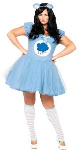 Candy Apple Halloween Costumes Women U0027s Size Blue Grumpy Care Bear Costume Candy Apple