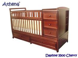 Convertible Cribs With Attached Changing Table Crib With Dresser Attached Bestdressers 2017