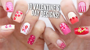 10 valentine u0027s day nail art designs the ultimate guide 2 youtube