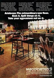get with these groovy vinyl floors from the 70s mannington