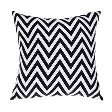 Modern Cushions For Sofas Outdoor Chair Cushions Black White Modern Sofa Cushion Printed
