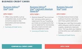 Business Secured Credit Card How To Apply For Business Credit Card